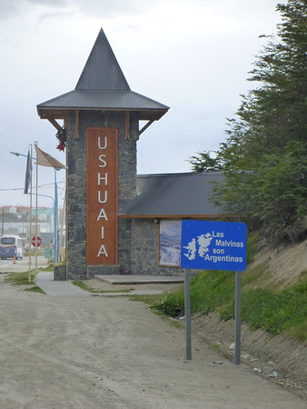 Ushuaia is home to a strong reverence for the Islas Malvinas