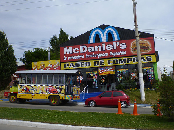 McDaniel's in el Calafate - a close substitute for McDonald's?