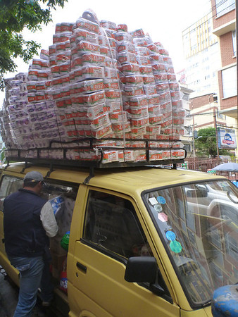 another normal load of TP, La Paz