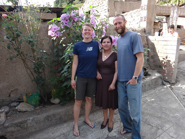 Jill, Marta and Mike in Chulumani.  She was a really nice hostess, letting us use her private bath and shower, which was much nicer than the alternative.
