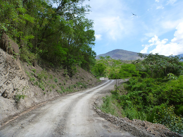 Fun road through the Yungas