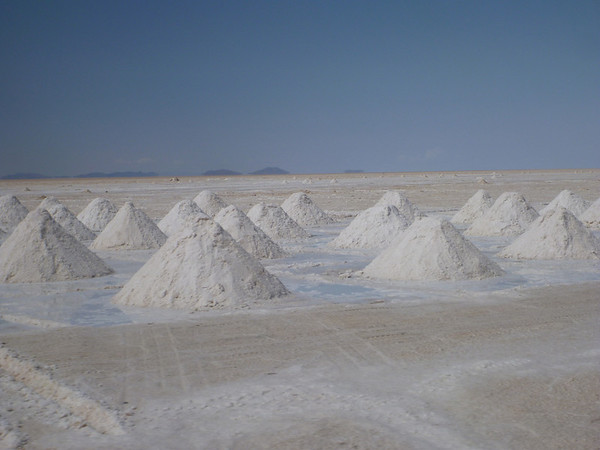 Mounds o' salt