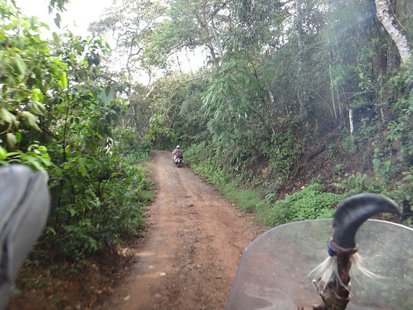 Access road to Hostal Sol y Luna, Coroico