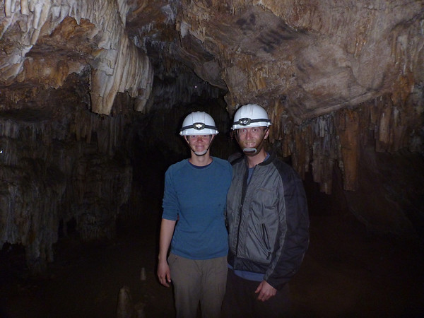 us in the Caverna de Umajalanta