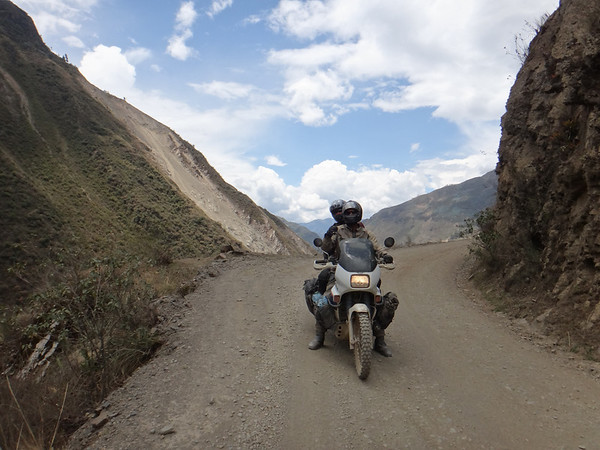 Riding in the Yungas was gorgeous!