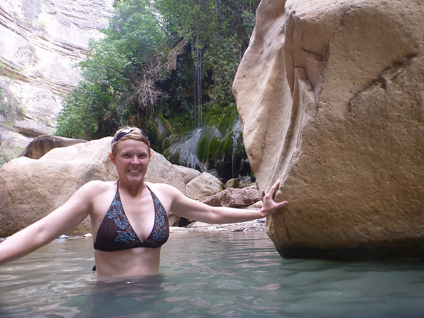 Jill now knows that the water is cold, El Vergel, Torotoro