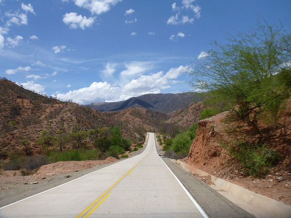 who said Bolivia has bad roads?