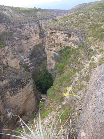 the canyon, El Vergel, Torotoro