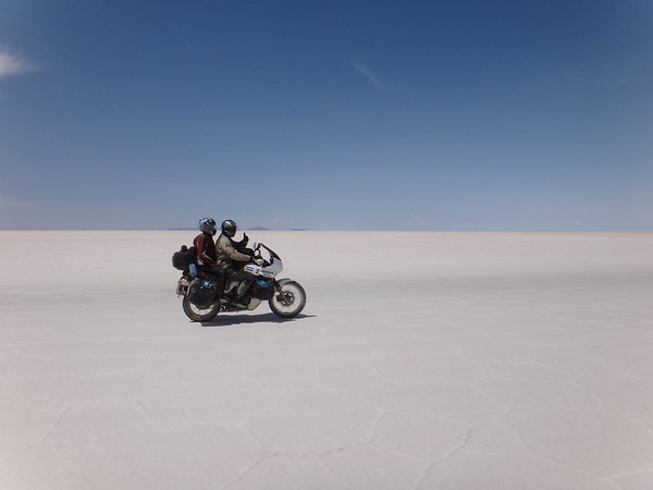 Riding on the Salar