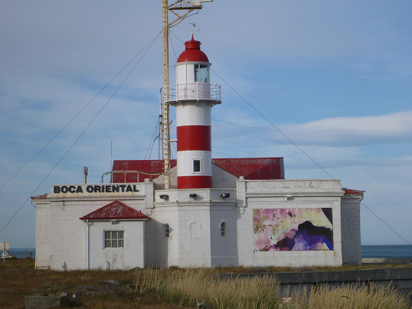 Lighthouse closeup at Primera Angostura