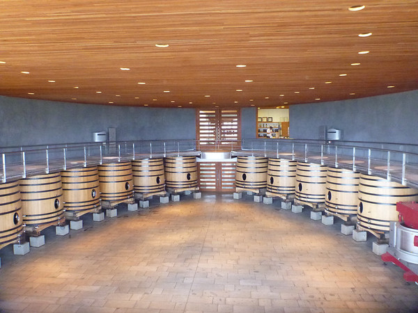 Lapostolle winery in the Colchagua valley.