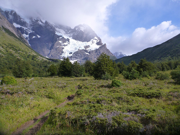beautiful valley view, Valle Francés, Torres del Paine