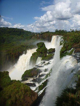 falls, jungle and clouds  (Cataratas de Iguazú)