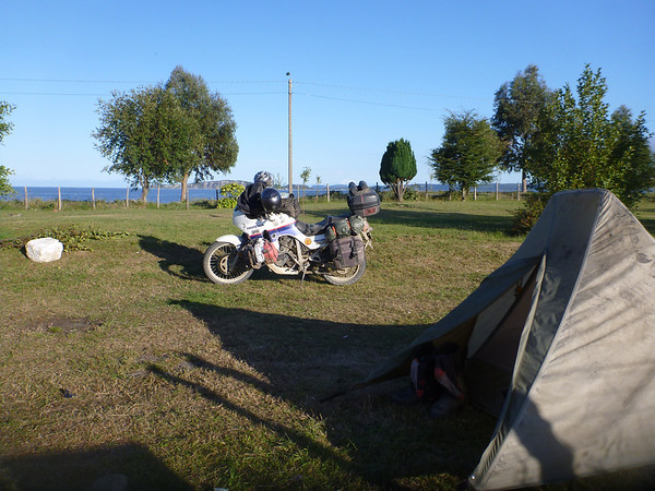 Free municipal camping in Chile!!  Queilén, Chiloé