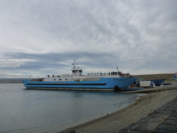 Transbordadores Austral Broom ferry from Pta Arenas to Porvenir