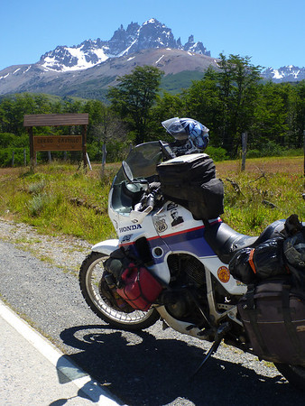 TA with Cerro Castillo, Carretera Austral