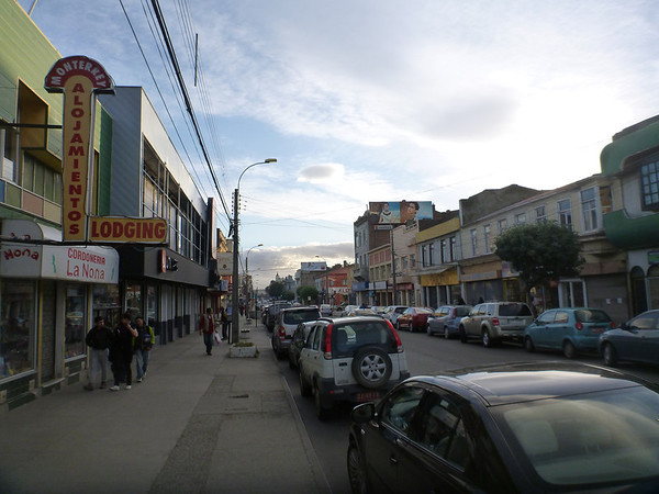 downtown Punta Arenas