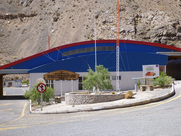 The Chilean aduana, also known as the place where they took our sheepskin.
