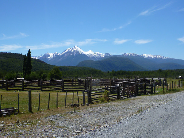 Between Caleta Tortel and Cochrane, Carretera Austral