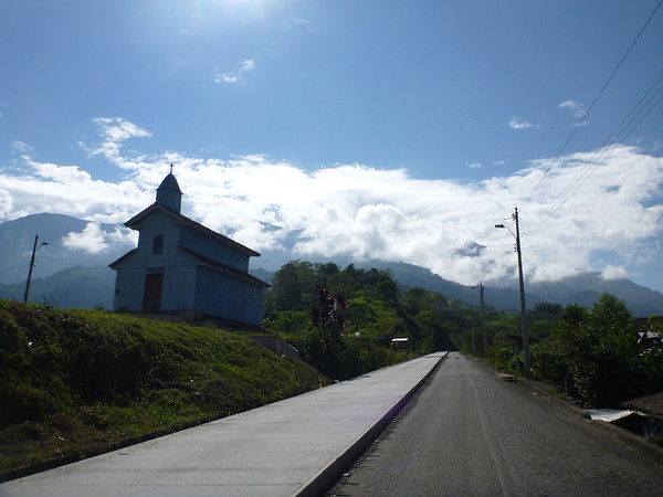 country church outside of Baños