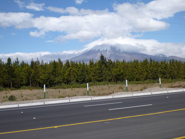Cotopaxi as seen from the Panamericana