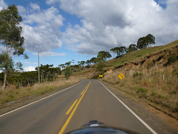 nice ride between Lages and Serra Rio do Rastro, Brasil