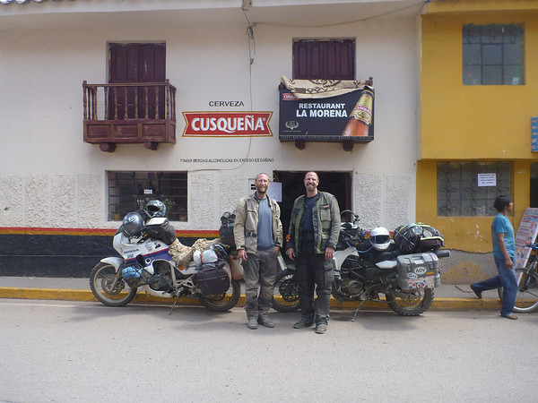 Mike and Mark in Pisac