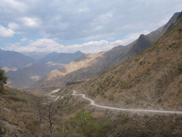 On the way to Cajamarca, Peru
