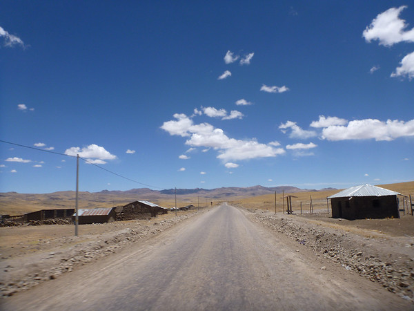 On the way to Arequipa, in the altiplano