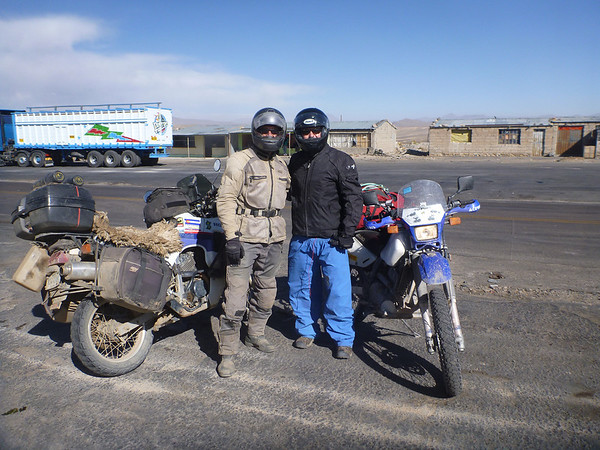 Mike and Will outside Arequipa