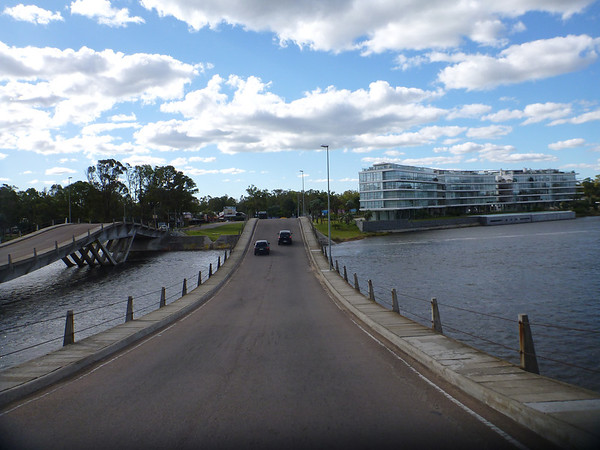 Hands down award winner:  most fun bridge to drive over.  Punta del Este