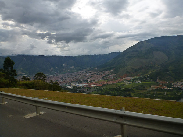 View of Medellin, Colombia