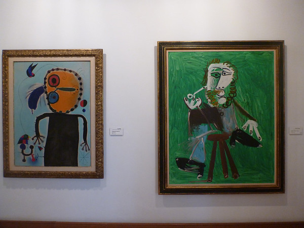 Picassos in the Botero Museum in Bogota, Colombia